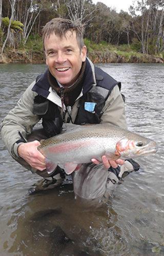 Fishing Tongariro River
